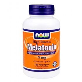 Мелатонин (5 мг, 60 капс) NOW
