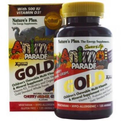Детские витамины (120 конфет, 60 дней)  - Nature's Plus
