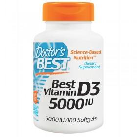 Витамин D-3 (180 капс, 5000 МЕ)