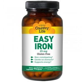 Железо (хелат, 90 капс по 25 мг)