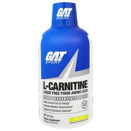 L-карнитин (473 мл, 48000 мг, GAT)