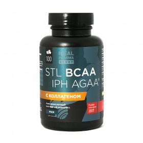 Стимулятор роста мышечной ткани BCAA IPH AGAA (100 таб, 1000 мг) - STL