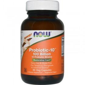 Probiotic-10 (30 капс) - NOW