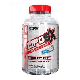 Lipo-6X (120 капс, двухфазные) - термогеник - Nutrex