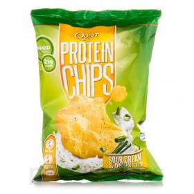 Чипсы Quest (белок 21 г, углеводы 2 г, жир 4 г, масса 32 г)